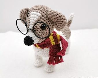 Crochet pattern: Harry the Jack Russell