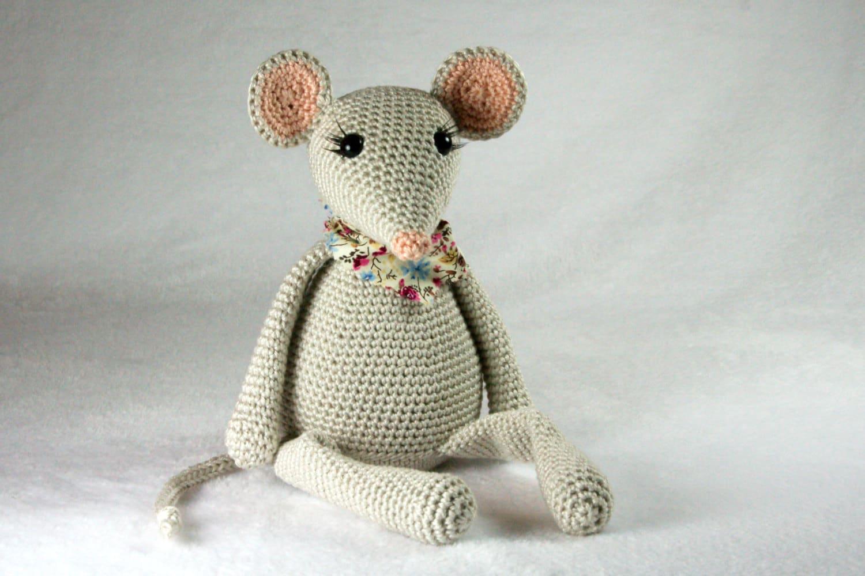 Lily the mouse crochet pattern | Etsy