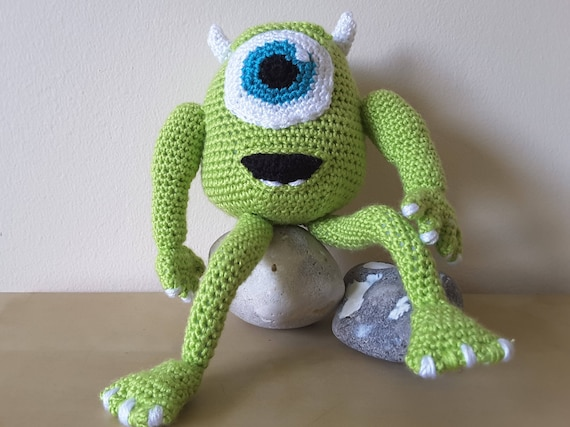 Disney Pixar Inspired  'Monsters Inc - Mike Wazowski'  Crochet Pattern Only