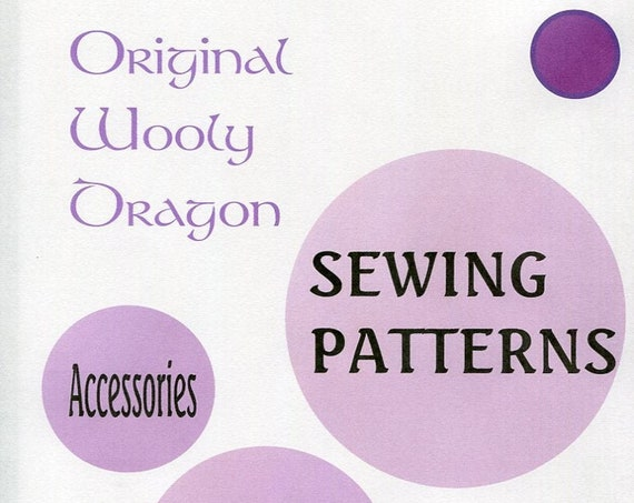 Sewing Patterns for Fashion Accessories, Bags, Hats, Totes, Leggings, Purses, Aprons  Sold per ONE Sewing Pattern each