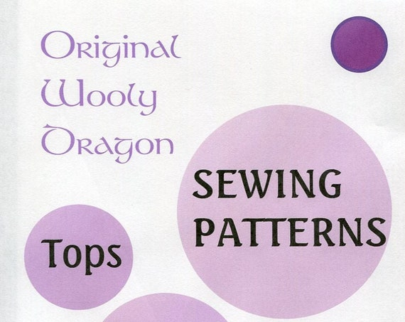 Sewing Patterns for Women's Tops of all kinds, Sold individually, Some very hard to find