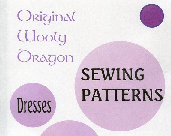 Sewing Patterns for Women's Dresses  Sold individually, Choose your favorite