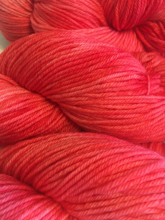 Pink Flamingo Merino Yarn