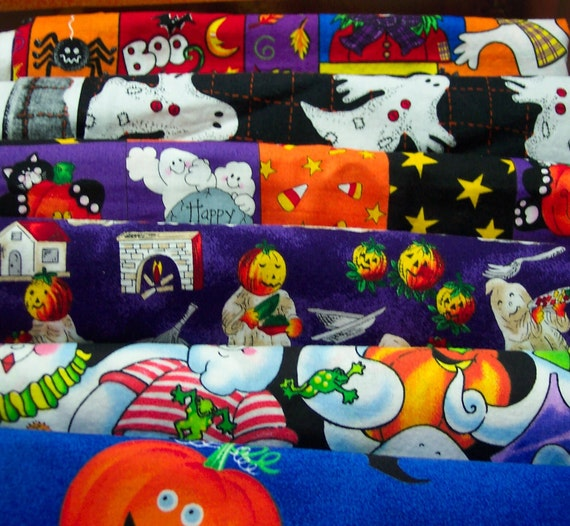 Fun Halloween Fabric by the piece, Find one you love and enjoy sewing with it.
