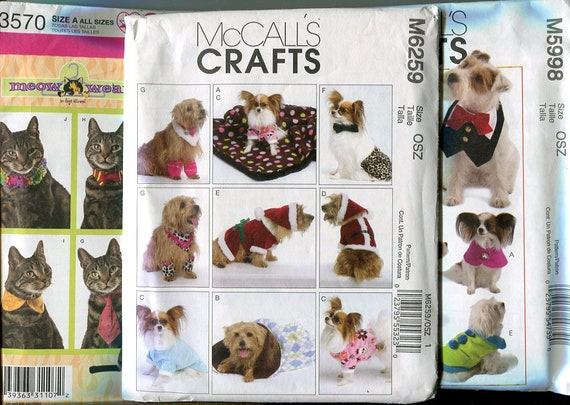 Patterns for Pets, Vintage, Out of Print, Hard to find