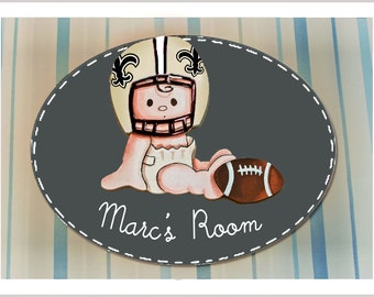 Saints Kids Room Etsy