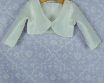 Boys Christening Bolero Jacket