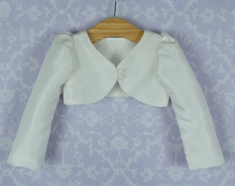 Girls Christening Bolero Jacket