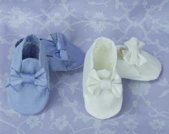 210f8243856bf Rufford Babies Christening Booties by Okika made in England