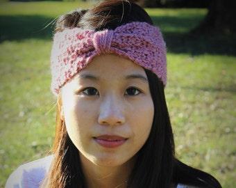 Pink Bow Headband