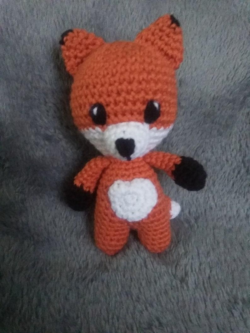 Winter Fox - Amigurumi Wild Animal - Fox Crochet - Stuffed Toy - High  Quality | eBay | 1059x794