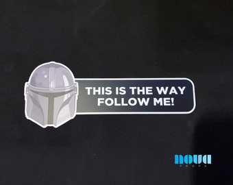 This is the way - Bumper Sticker