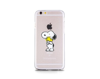 buy online b74cd 54e5a Snoopy iphone case | Etsy