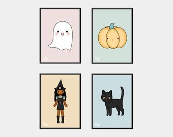 Halloween Prints Artwork for kids