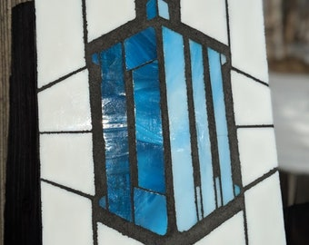 Doctor Who Glass Mosaic