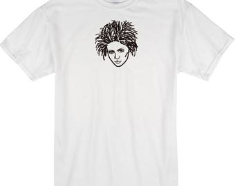 GRIMES  hand drawn t shirt illustration design original