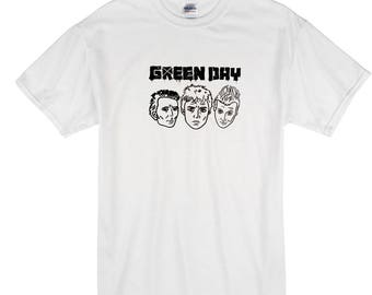 Green day hand drawn t shirt illustration design original