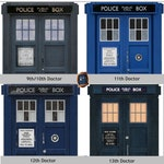 TARDIS Inspired Ring Box w/ LED Lighting - Select YOUR Doctor's Style