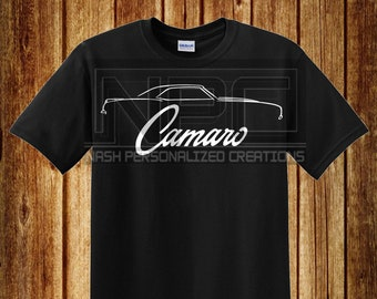 fcf74c504b Camaro shirt | Etsy