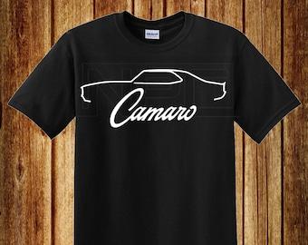 b44541d41 67-8 Camaro T-Shirt
