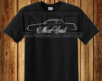 85 Monte Carlo T-Shirt