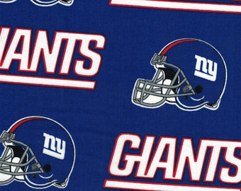 End Of Bolt - NY Giants Helmet Football Fabric- NFL - 100% Cotton by Fabric  Traditions cf59806ce