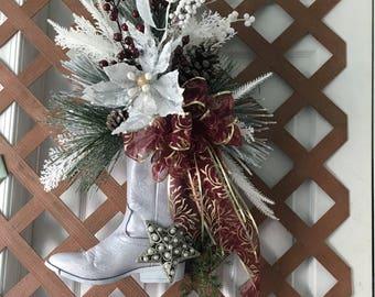 cowboy christmas country christmas western christmas decorations country living decorations - Western Christmas Decorations