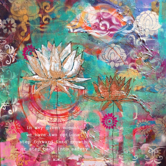 Yoga Art Yoga Painting Yoga Gifts Yoga Wall Art Yoga Etsy