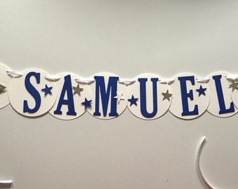Name chain Samuel for the Little Prince, crafted.-