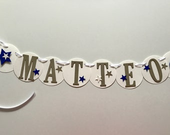 Name chain Matteo, for the little prince, crafted