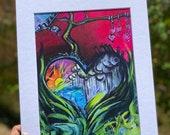 Into the Garden print