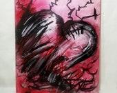 Love Scar 16x20 Acrylic on Canvas