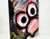 Pink Crazy 8x10 Acrylic on Canvas
