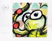 Crazy Octo - Acrylic on Canvas