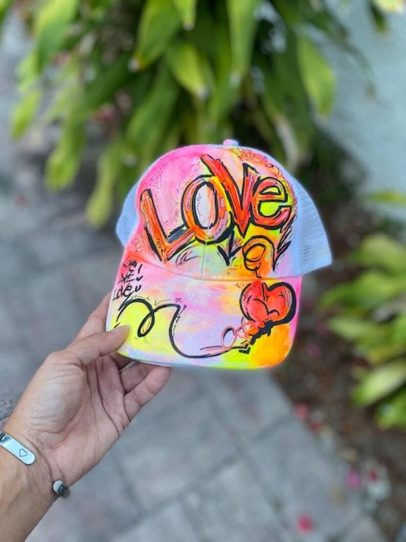 Love light up mesh hat black like reactive one of a kind. image 0