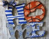 door hanger, basketball, ...