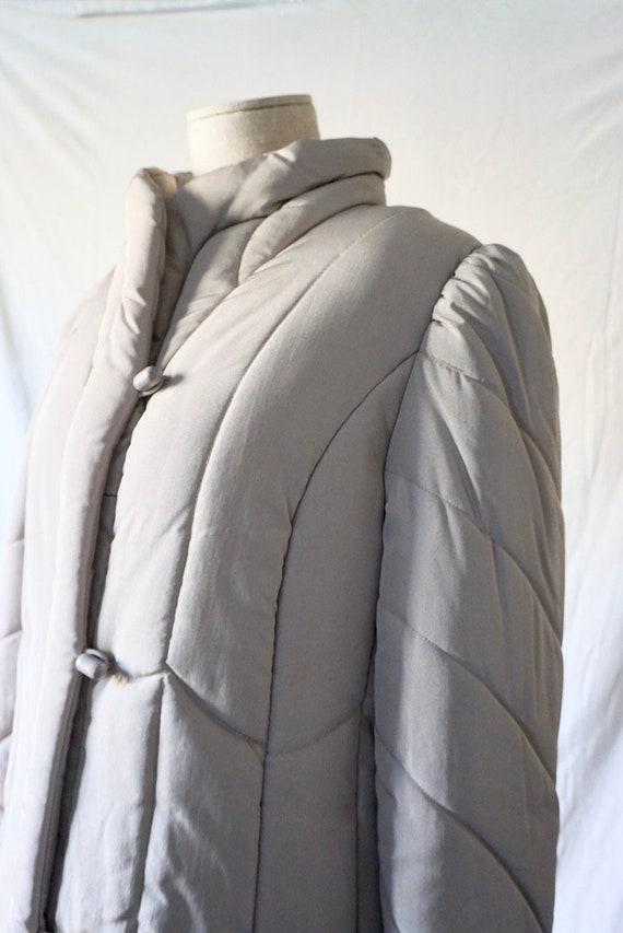 Unworn 80s puffer coat by J Gallery | Size XL