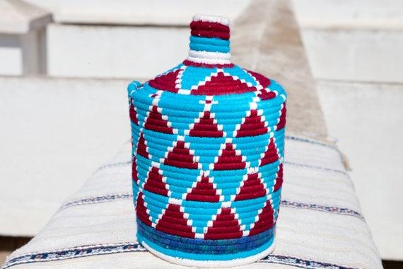 MAROKKANISCHE Korb Marokkanische Brotkorb Berber Korb | Etsy