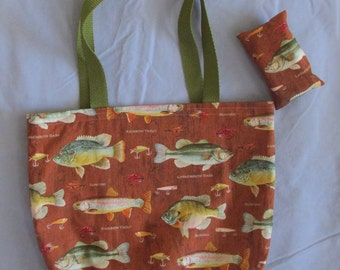 Fish Tote Bag Set
