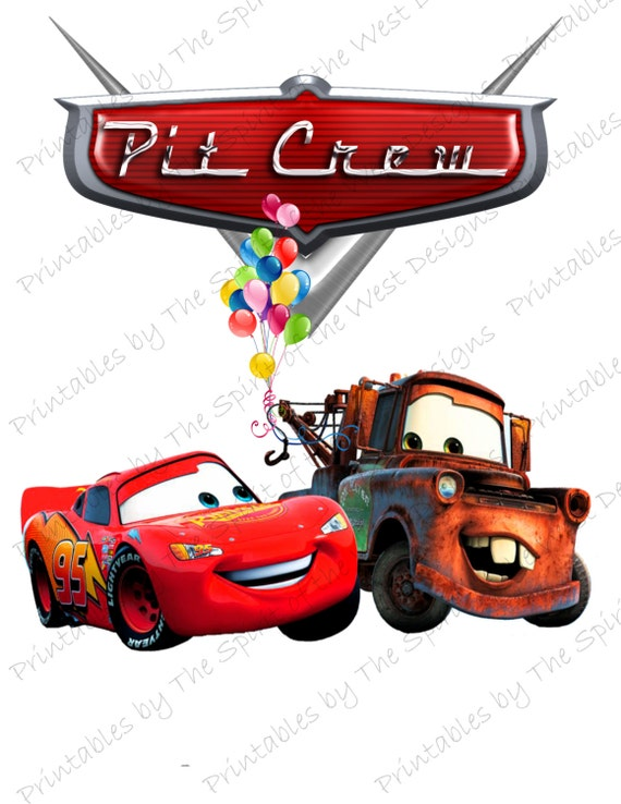 Pit Crew IMAGE Use As Clip Art Or Printable Iron On Lightning Etsy