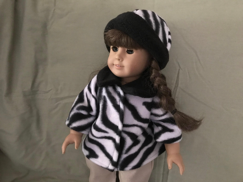 f4119d5d8 Zebra print coat and hat