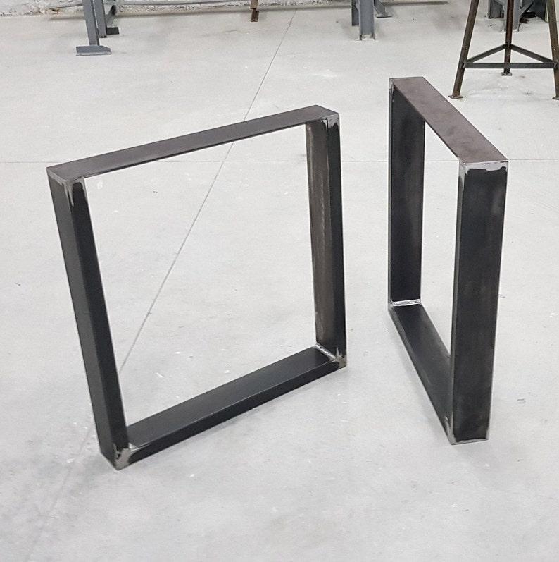 legs per table table legs Steel table UP10040 2x pieds de table industriel Metal steel legs iron table feet acier pieds