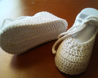 Crochet Baby Princess Slippers