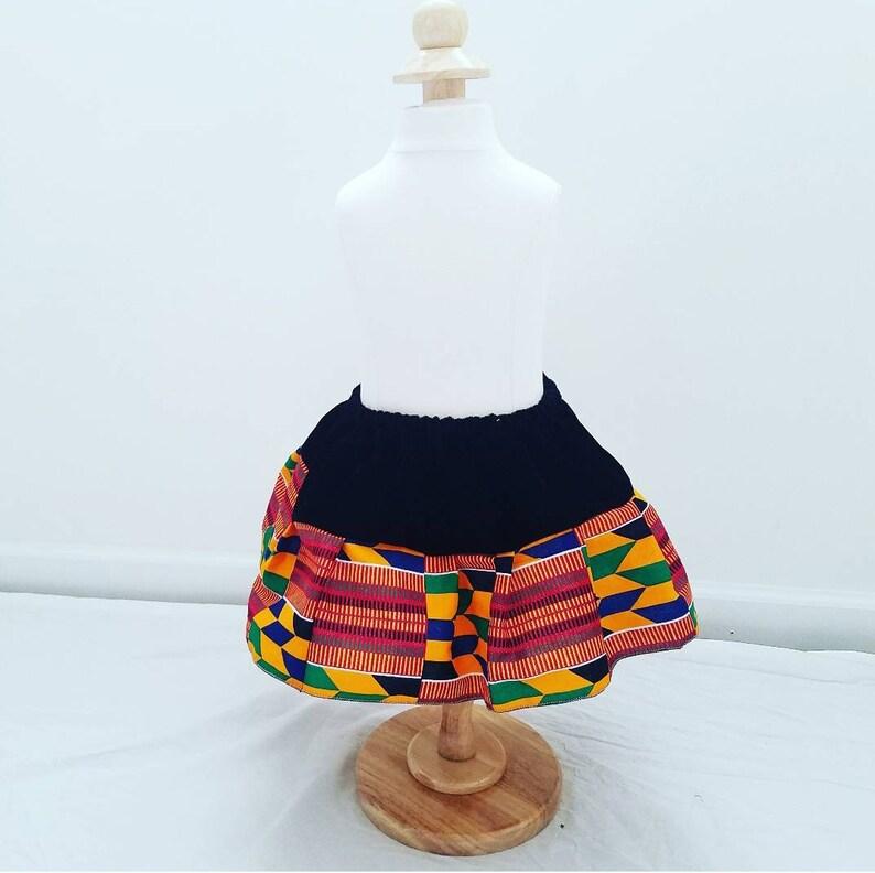 African Skirt girl skirt baby setgirl birthday outfit first birthdayAnkara Girls SkirtToddlers skirtBaby clothesAfrican baby clothes