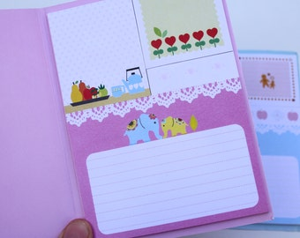 Scandinavian Page Marker Post it notes, Cute Kawaii planner stickers