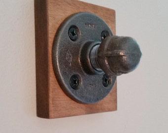 Industrial Coat Hook; Towel Hook; Entry Hook; Single; Steampunk Hook Industrial Decor