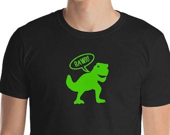 c15fcf81e Dinosaur tshirt, dinosaur rawr, t-rex, graphic tee, sarcastic shirt, ladies  tshirt, mens tee shirt, funny tee, dinosaur t shirt, geekery