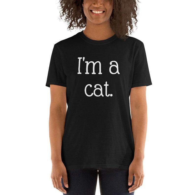 1de8535a0 Cat tshirt I'm a cat cat lady TShirt graphic tee I   Etsy