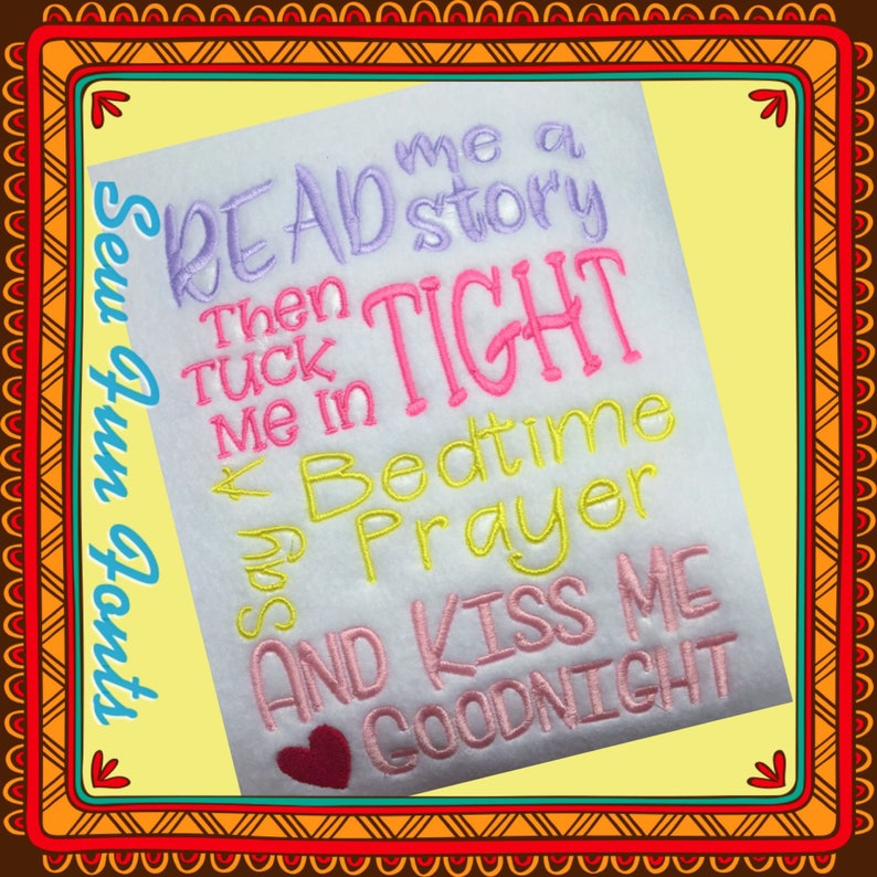 Read Me A Story Then Tuck Me In Tight Say A Bedtime Prayer image 0