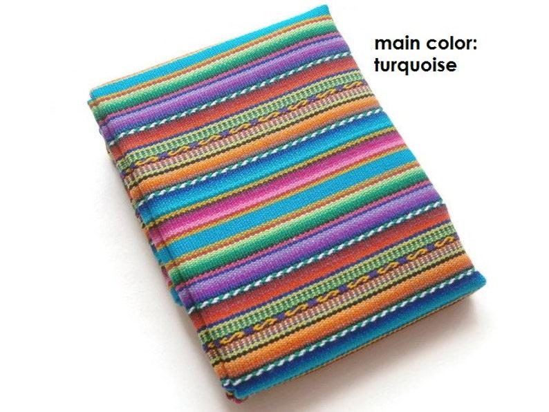 Striped Serape Cloth Bohemian Style Tribal Colorful Fabric Half Yard0.45 M Tissu Boho